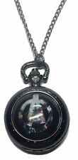 "Marvel Comics The AVENGERS Logo Glass Dome Pendant Watch on 30"" Chain"