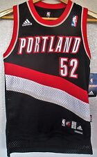 NEW Adidas Portland Trail Blazers Youth S Greg Oden 52 NBA Basketball Jersey