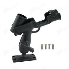 Universal Adjustable Rod Holder For For Kayak Boat Canoe Fishing w/Screws