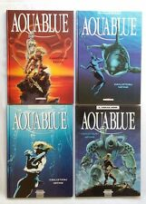 Lot BD - Aquablue 1 2 3 4 / EO / CAILLETEAU & VATINE / DELCOURT