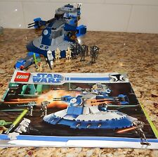 Lego Star Wars 8018 Clone Wars Armored Assault Tank 100% Complete w/ instruction