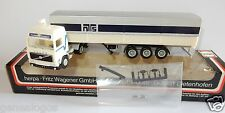 MICRO HERPA HO 1/87 CAMION VOLVO FL10 NORDISK NTS TRANSPORT SEMI REMORQUE IN BOX