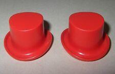 17983 Sombrero copa rojo anaranjado 2u playmobil,hat,victoriano,victorian