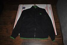 THE NORTH FACE  MEN'S  BLACK GREEN ZIPPER  COLD WEATHER JACKET SIZE L