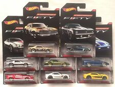 2017 Hot Wheels Wal-Mart Exclusive Camaro Fifty Complete Set of 8