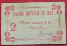 Portugal - Cedula of 2 cents ESCASSA of the district of BEJA (C.M. de C.)
