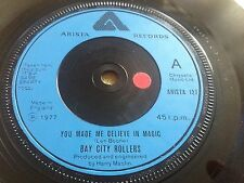 Bay City Rollers,You Made Me Believe In Magic, 1977, Arista 127, @Search4Vinyl
