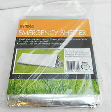 Outdoor Solutions Emergency Thermal Shelter / Tent / Bivouac - BNWT
