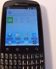 Motorola XT311 Fire - Black (Unlocked) Smartphone Mobile - Azerty Keyboard