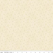 $7 Per Yard ISABELLA Petals Cream Quilt Fabric~C4697 ~Penny Rose/Riley Blake