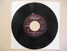 MICHAEL CLARK Silver Saddle, Faded Rose CAPITOL RECORDS 45