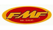 SINGLE AUTHENTIC FMF RACING EXHAUST ORIGINAL DECAL EMBLEM STICKER QTY 1