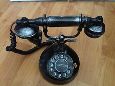 ANIMATED TALKING VINTAGE ROTARY SPOOKY TELEPHONE HAUNTED HOUSE GEMMY Prop