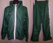Nike Storm-Fit Green Reflective Rain Suit Track Suit EUC - Mens Medium