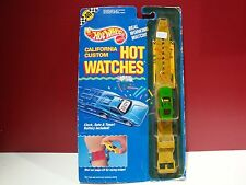 Hot wheels Cal Customs California Hot Watches green mustang fastback find wrist