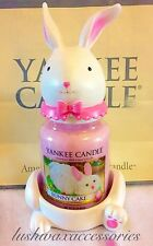 Yankee Candle Retired USA  Bunny Feet & Head Set / Topper & Holder Set