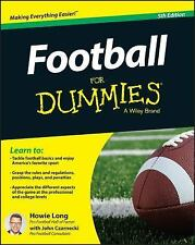 Football for Dummies by Howie Long (2015, Paperback)