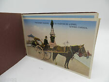 Vintage 1920's Detachable Postcard Souvenir Folder With 8 Cards - Quebec Canada