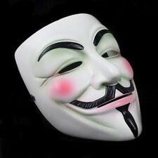 Cosplay Guy Fawkes V FOR Vendetta Anonymous Resin Adult Masks Party Costume New