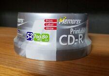 MEMOREX CD-R  700MB 80 MIN   New unused 30 PACK FACTORY SEALED