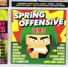 SUEDE / PAVEMENT / TRAVIS / SEBADOH + Spring Offensive NME CD 1999