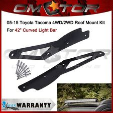 "2p For 05-15 TOYOTA Tacoma fit 42"" Curved LED Light Bar Roof Mounting Bracket AM"