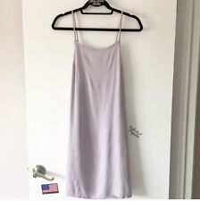 New! brandy melville Pastel Purple low back flowy Clyde slip Dress NWT S/M