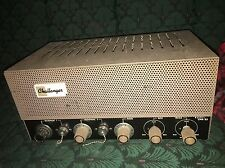 Bogen Challenger CHA 33 12AX7 6L6 Amp Tube Amplifier Working Harp Plug-And-Play