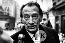SALVADOR DALI Portrait Micro Radio Monte-Carlo Interview Paris Photo 1960s #2