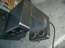 COFFEE MAKER,2 TANKS,AUTO, 220V, BASKETS,HOT WATER TAP,S/S UNIT 900 MORE ITEMS