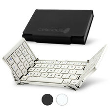 Celicious Keyboard Tri BK01 Compact Foldable Bluetooth Keyboard - White