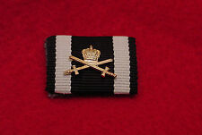 GERMAN EMPIRE/PRUSSIA WWI HOUSE ORDER OF HOHENZOLLERN KNIGHT W/SWORDS RIBBON BAR