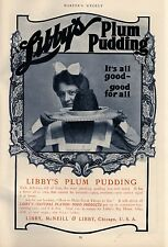 LIBBY'S PLUM PUDDING RICH DELICIOUS FULL OF FRUIT NATURAL FLAVOR FOOD PRODUCTS