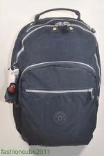 New With Tag KIPLING SEOUL BACKPACK WITH LAPTOP PROTECTION  -True Blue