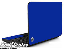 LidStyles BLUE Vinyl Laptop Skin Protector Cover Decal fits HP PAVILION G6