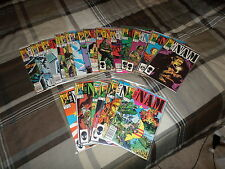 The Nam #1 2 3 4 5 6 7 8 9 10-40 - Complete - Very Fine+/Near Mint - Marvel