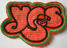 YES Logo Original Vintage 1970`s Embroidered Patch/écusson/aufnäher/parche