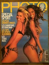 PHOTO n°350 French Juin 1998 Spécial Sport Élite Model Look Photo Stars nues