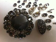 Swarovski Crystals Craft Fashion Large Lot Trims