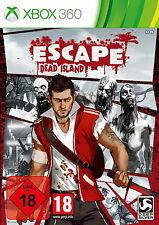 Xbox360 Escape Dead Island USK18 NEU/OVP in Folie Sammler Promo Copy günstig