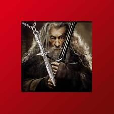 Herr der Ringe - Schwert mit silberner Kette / Pendants Necklace Movies Jewelry