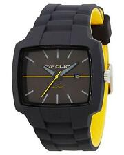 Rip Curl TOUR XL SILICONE Men's Waterproof Surf Watch New - A2749 Charcoal Grey