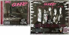 "GUNNER ""Keep Fighting"" Rare Danger Danger Treat Autograph CD"