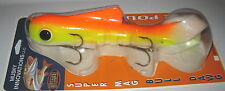 "15"" Super Magnum Bull Dawg Pounder Musky Innovations Lure UV Reflex Sunrise"