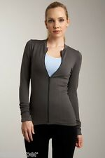NWT M NUX USA Gym Yoga Activewear Quantum Running Workout Zip Jacket