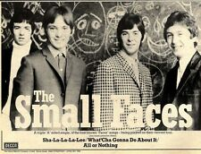 17/9/77PN37 ADVERT: THE SMALL FACES TRIPLE A SIDE SHA-LA-LA-LA-LEE 7X11