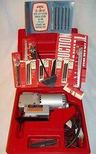 VTG SKIL DELUXE JIG SAW 2 SPEEDS 1960'S EXCELLENT  ORIGINAL CASE & INSTRUCTIONS