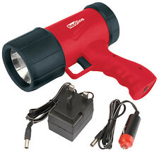 Redline Rechargeable torch LED 1 Watt Superbright flashlight 12v in car charger