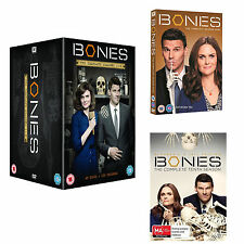BONES The Complete Season Series 1, 2, 3, 4, 5, 6, 7, 8, 9 & 10 DVD Box Set 1-10