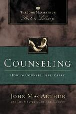MacArthur Pastor's Library: Counseling : How to Counsel Biblically by John...